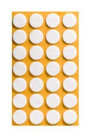 Folmag felt pads - round 20mm