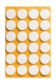 Folmag felt pads - round 22mm