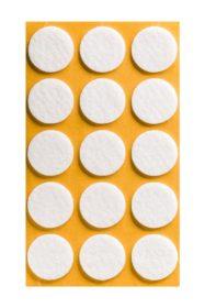 Folmag felt pads - round 28mm